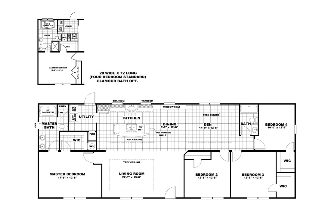 The 5582 SWEET CAROLINE Floor Plan
